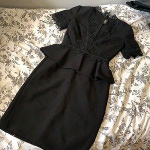 NK42 Naeem Khan Black Dress